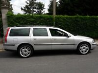 Selling my Volvo V70 T5 SE Silver Automatic, Petrol 2319cc, 5 dr with MOT till 31st July 2019.