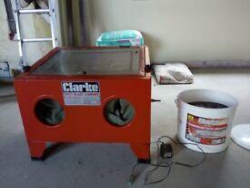 Clarke Shot Blast Cabinet