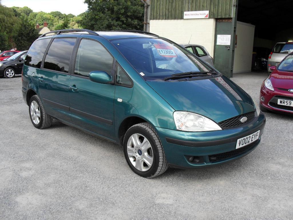 Ford galaxy 1 9 td ghia 115 ps green 2002 in somerset gumtree