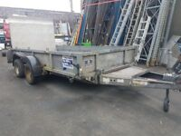 12 ft Ifor Williams Plant Loading Trailer