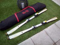Integra elan x9.0 titanium technolagy skis and bag