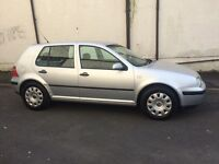 VW golf 1.9 tdi 100 bhp 1 owner from new