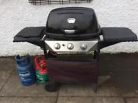 Three Burner Gas BBQ with Full Gas
