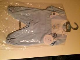 Mini Chic blue sleep suit NEW with tags various sizes