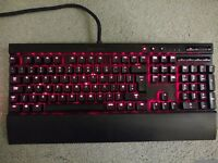 Corsair K70 Cherry MX red w/red backlighting