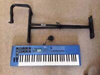 Yamaha CS1x Synthesizer With Keyboard Stand