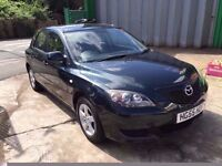 MAZDA 3 1.6 TS AUTOMATIC, 5 DOOR, 35,000 GENUINE LOW MILEAGE, 2 KEYS, HPI CLEAR,FINANCE AVAILABLE
