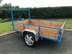 "NEW CAR TRAILER 7ft LONG 4ft 6"" WIDE"