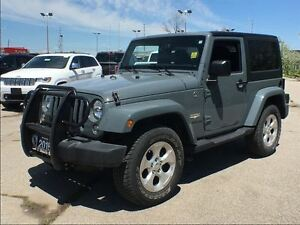 2015 Jeep Wrangler SAHARA**NAV**REMOTE START**6.5 INCH TOUCHSCRE