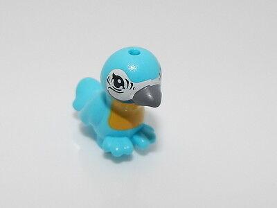 Lego Animal Friends Bird with Dark Bluish Gray Beak and Yellow Chest Pattern