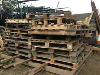 Wooden pallets available. Free for collection.