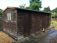 Large Garden Shed (15 x 9 ft) [Used - Collection Only]