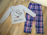 Disney Tinkerbell Girls age 9-10 pjs in immaculate condition