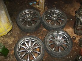 "Bellini 18"" alloy wheels"