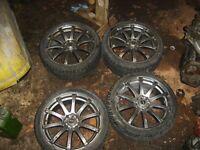 """Bellini 18"""" alloy wheels"""