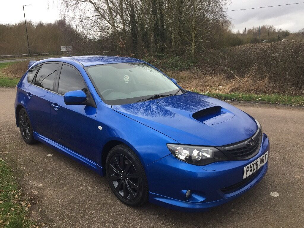 2008 08 subaru impreza 2 5 wrx 5 door hatchback long mot. Black Bedroom Furniture Sets. Home Design Ideas