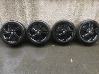 "17"" Vauxhall corsa / Adam black alloys special edition"