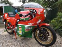 1982 DUCATI MHR , SWAP FOR MANX OR ROB NORTH TRIPPLE .