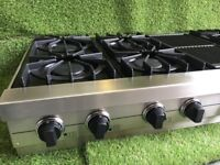 Ex display Viking Range Top 6 burner and bbq Wolf luxury Appliance inc vat