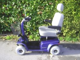 PRIDE CELEBRITY X mobility scooter, 25 stone user weight, good condition.