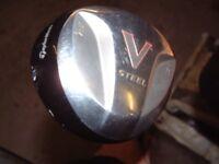 Golf Club Taylor Made V Steel 3 Wood