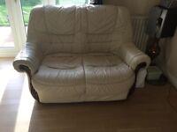 Used 2 seater leather sofa