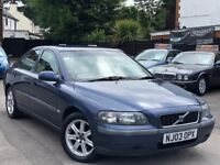 Volvo S60 2.4 D5 Full Service History 2 Owners 2 keys Half Leather Seats + WARRANTY