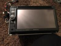 Kenwood car dvd player aux usb double din