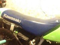 KX 125CC seat