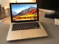 Macbook mac pro mid 2012 Intel 2.5ghz Core i5 processor apple mac laptop