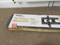 Free delivery TV wall tilt bracket for 12.50£