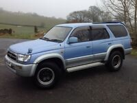 TOYOTA HILUX SURF 3.0 SSR-G LIMITED EDITION AUTO 4X4 BLUE ** LONG M.O.T!!! ++ MANY EXTRAS!!! **