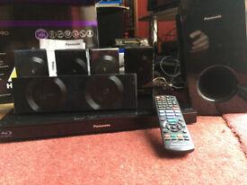 Panasonic Surround Sound System (Blu Ray not working, please read spec)