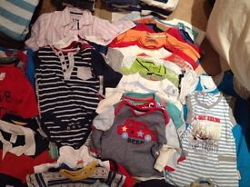 Baby boy clothes - huge selection, clean, washed and ready to use (NOW REDUCED)