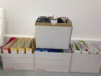 61 used office folders - Free to a good home