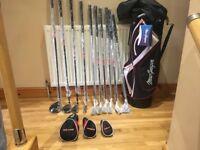 Brand new/unused full golf set !