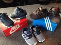 Kids Nike Air Adidas flux