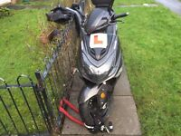 selling my lexmoto FMX125 scooter bought as new in Sept 2016 has full service history