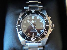 seiko prospex 200m divers watch new unworn model ska761