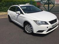 SEAT Leon 1.6 TDI CR SE 2014 14 PLATE (Tech Pack) ST (s/s) 5dr