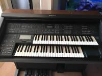 Technics Electronic Organ GX3