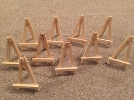 Wooden Photo Easels x 10 - Ginger Ray - Wedding Table Centrepieces