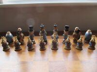 Chess Set - Alice in Wonderland - Studio Anne Carlton