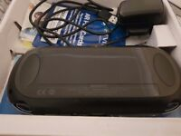 PlayStation vita WiFi with 16gb card box and charger