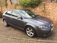 Audi A3 2.0 tdi 2008, 143005 miles, 3 door hatchback, grey, alloy wheels, private number plate