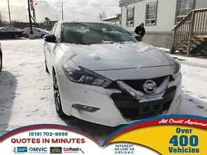 2016 Nissan Maxima SV | ONE OWNER | LEATHER | NAV | CAM
