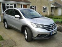 Honda 2013 CR-V SE I-VTEC 2WD Estate in Silver in Exchange for LHD