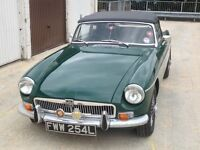 1972 MGB Roadster - British Racing Green - Perfect working condition
