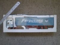 FERGUSONS OF BLYTH - LARGE 1:18 SCALE DIE CAST MODEL LORRY IN BOX - VERY RARE