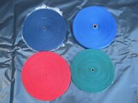 50 Metre Coils of Strong Nylon Webbing For Dog Leads Dog Harness Bag Straps etc